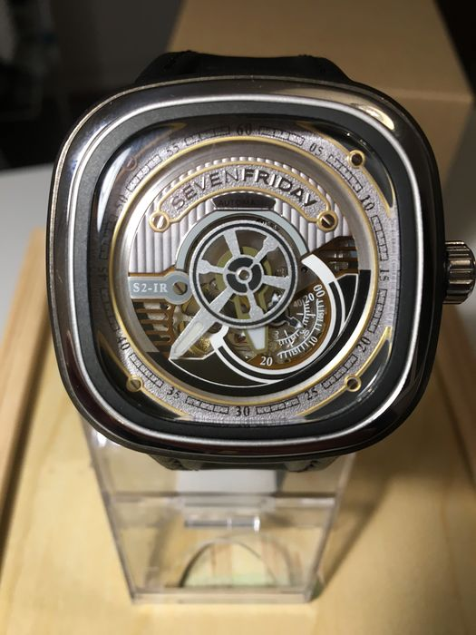 Sevenfriday - S-Series Automatic Silver Dial Men's Watch - SF-S2/01 - Herren - 2011-heute