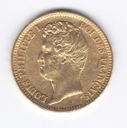 France - 20 francs 1831 W Louis Philippe I - Or