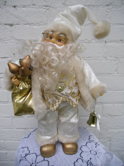 Special exclusive music box moving Santa Christmas - Dust and plastic