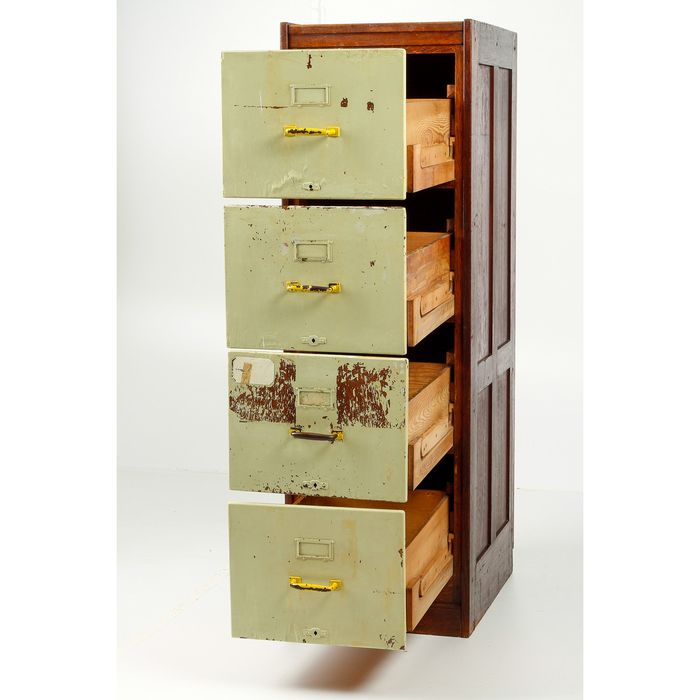 Chest of drawers, Cupboard - Beautiful, historical manifestation of the paper time