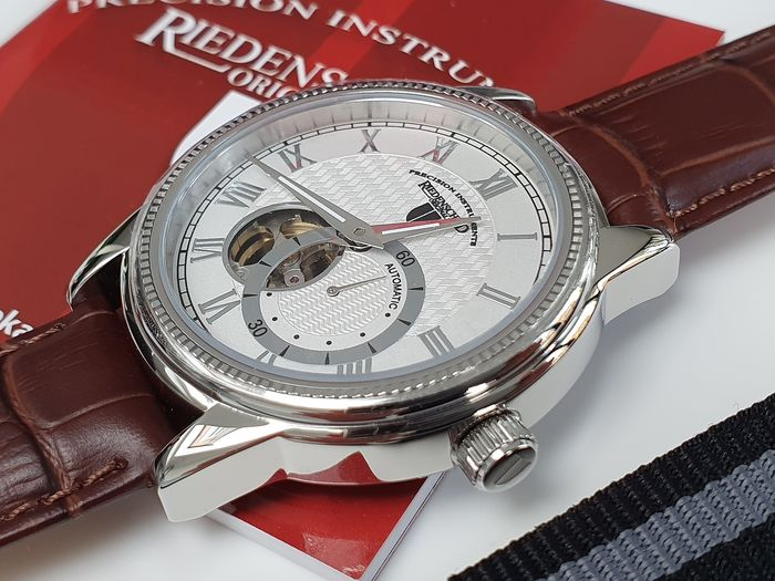 Riedenschild Germany -  Luxury automatic open heart  + free omega style strap - Homme - 2019