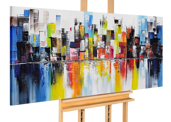 Monika Spiewak - CITY  - Very Big Size - 140x70 cm