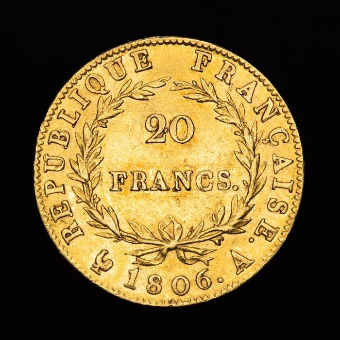 20 Francs 1806-A Napoléon I - Or