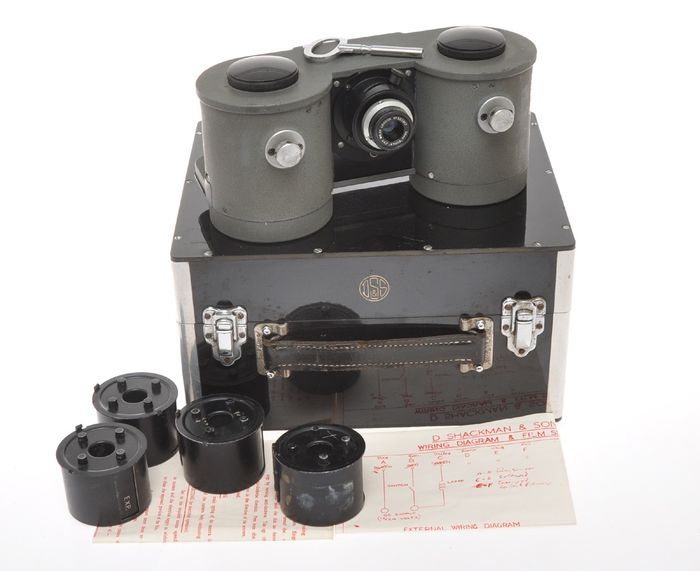 D. Shackman & Sons , The Auto Camera with Wray 36mm F3.5 Supar and box, exc++