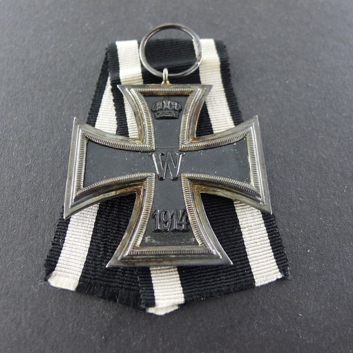 Alemania - Iron Cross 2nd Class 1914 para combatientes - Galardón