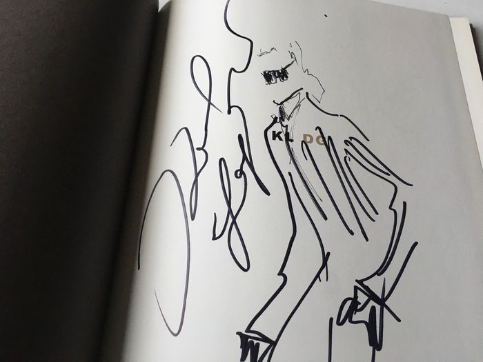 Signed; Karl Lagerfeld - A Portrait of Dorian Gray - 2004