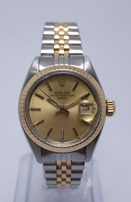 Rolex - Oyster Perpetual Date - 6917 - Mujer - 1980-1989