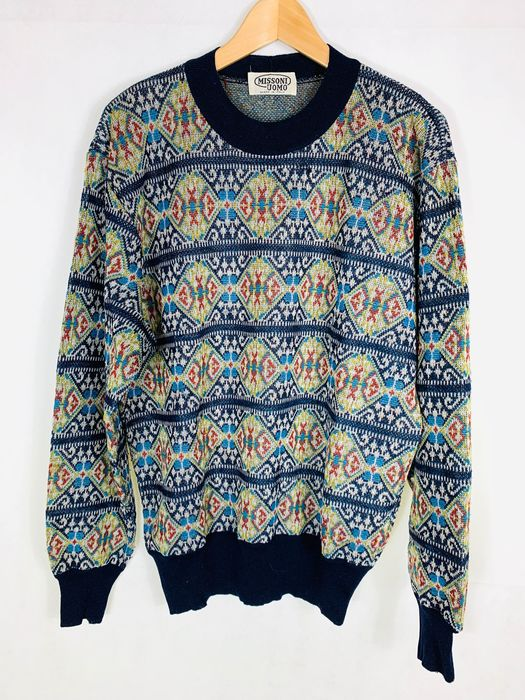 Missoni - Sweater, 100% WOOL - Size: EU 48 (IT 52 - ES/FR 48 - DE/NL 46)