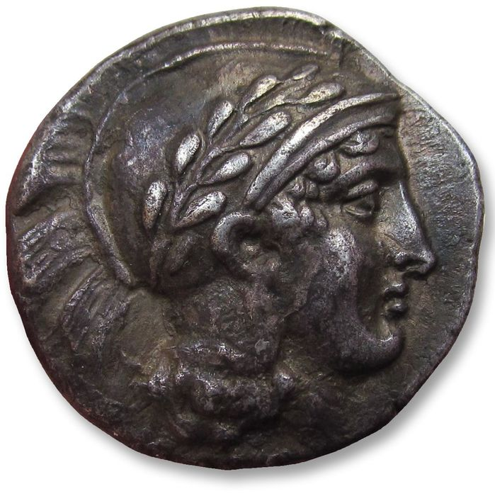 Greece (ancient) - Lucania, Thurium / Thourioi. AR stater- beautiful quality - 440-400 B.C.  - Silver