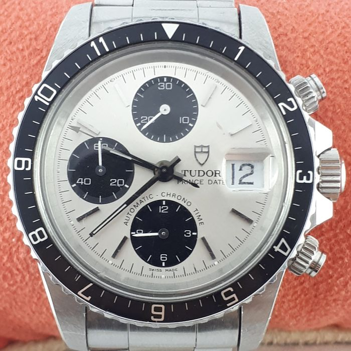 Tudor - Vintage Big Block Chronograph White Panda - Ref: 79170 - Men - 2011-present