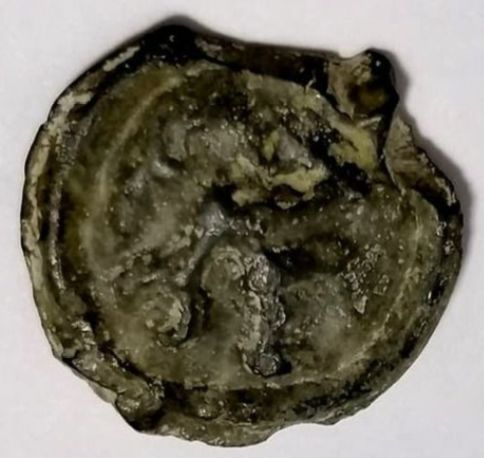 Greece (ancient) - Lot comprising 2 AE coins: Remes, Potin, 1st century BC / Planchet, possibly Sicilian, 5th-3rd century BC - Bronze