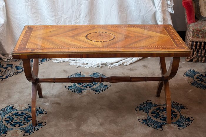 Coffee table (1) - Wood - Early 20th century