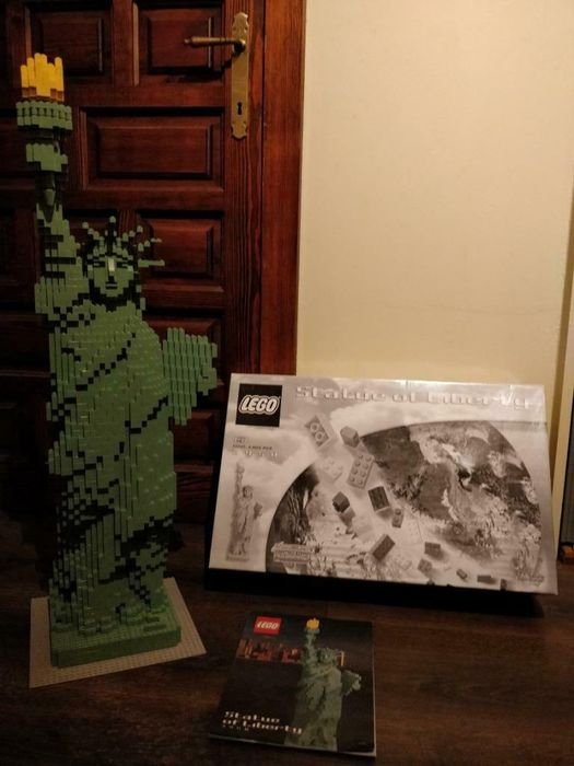 LEGO - Sculptures - 3450 - Figure Statue of Liberty - 2000-present - Denmark