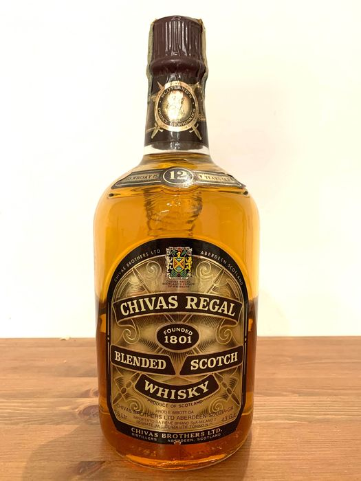 Chivas Regal 12 years old Blended Scotch Whisky - b. 1970s - 1.5 Litres