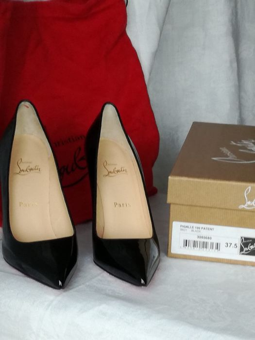 Christian Louboutin - Pigalle  Open-toe shoes - Size: FR 37.5