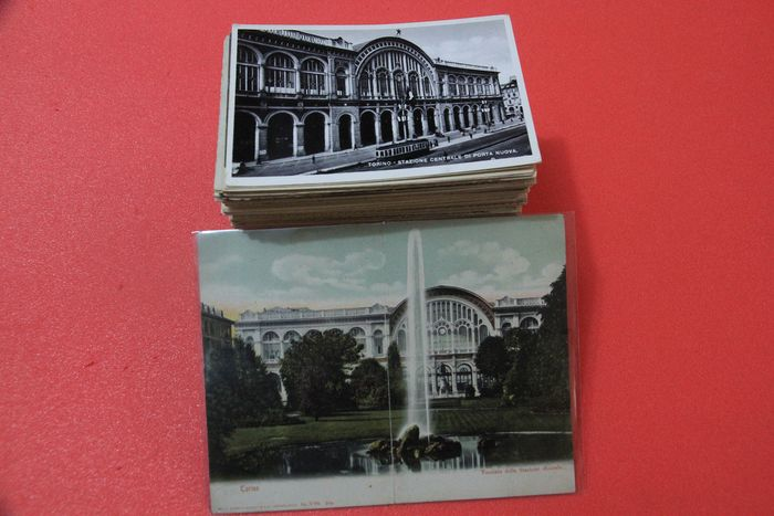 Italy - Piedmont only Turin - Postcards (Collection of 260) - 1900-1950