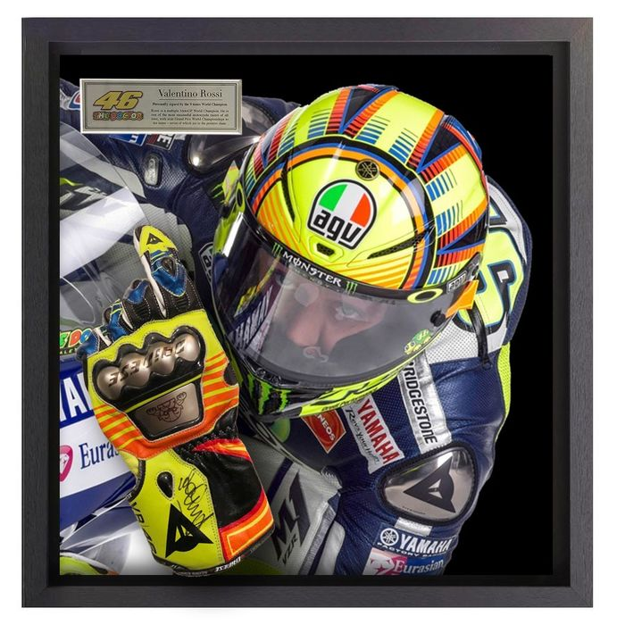 Personally Signed - MotoGP - Valentino Rossi - Dainese Glove