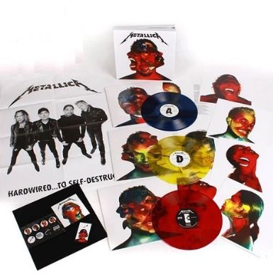 Metallica - New & Sealed, Deluxe Boxset, Limited edition:  Hardwired...To Self-Destruct - 3xLP Album (Triple album), Box set, CD, LP Album, LP Box set, LP's - 2016/2016