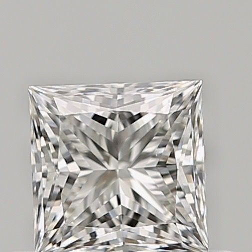 1 pcs Diamante - 0.41 ct - Princesa - E - VVS2, ***low reserve***