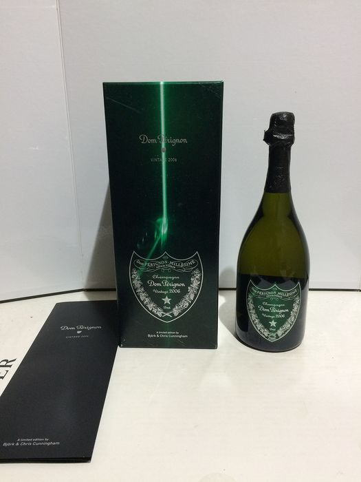 2006 Dom Perignon Brut Bjork and Chris Cunningham Edition - Champagne - 1 Bottle (0.75L)