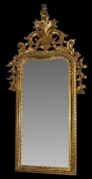 Wall mirror - Louis Philippe - Wood - First half 19th century