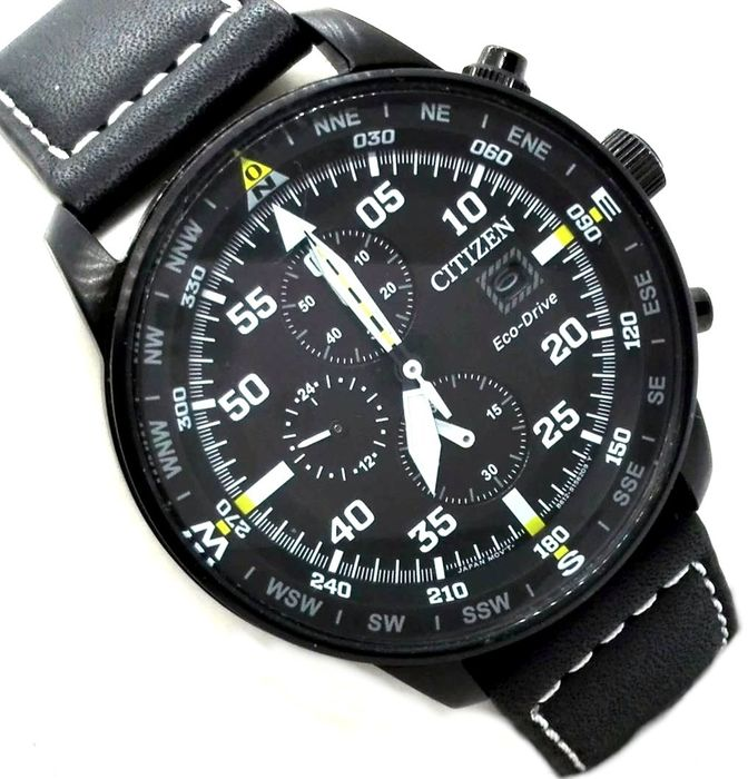 Citizen Professional Crono Aviator Black Night Eco Drive Catawiki