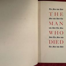D.H. Lawrence - The man who died - 1935