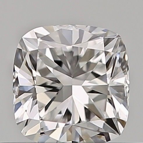 1 pcs Diamant - 0.40 ct - Cushion - D (kleurloos) - VVS2, ***no reserve***