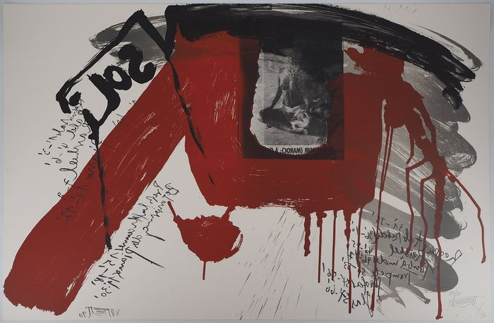 Wolf Vostell  - Le cri : Sol