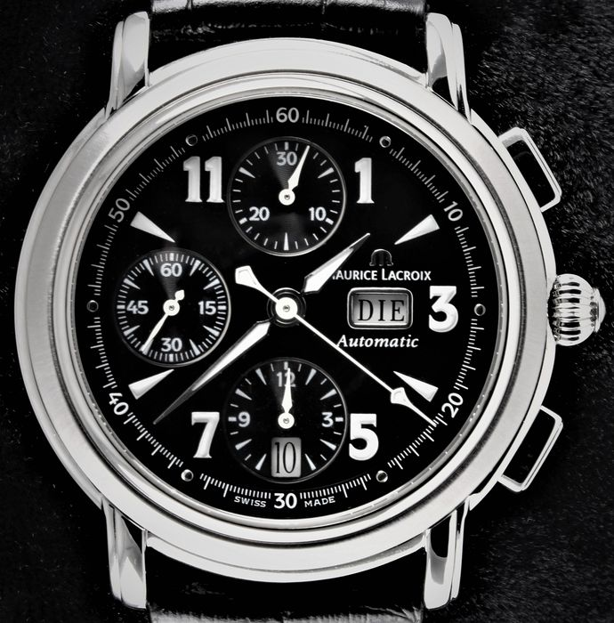 """Maurice Lacroix - MASTERPIECE - """"CRONEO"""" - Swiss Automatic Chronograph -  Ref. No: MP6318 - Excellent Condition - Warranty - Hombre - 2000 - 2010"""