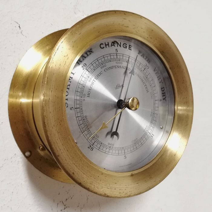 Schatz - Holosteric Precision Barometer - Brass, Glass - Early 20th century
