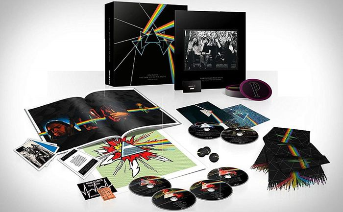 Pink Floyd & Related - the dark side of the moon immersion box set - Book, Box set, CD, CD Box set, CD's, DVD, DVD Box set, DVD Limited box set, DVD's, Limited box set, Limited edition, Picture, Postcard, Various media - 2011/2011