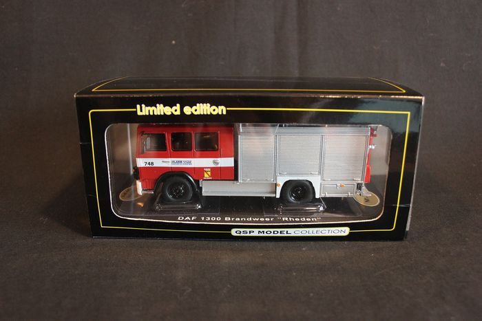 QSP Model Collection - 1:50 - DAF 1300 Truck - Fire Department Rheden