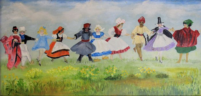 Molly Osborn  - Dance with traditional costumes