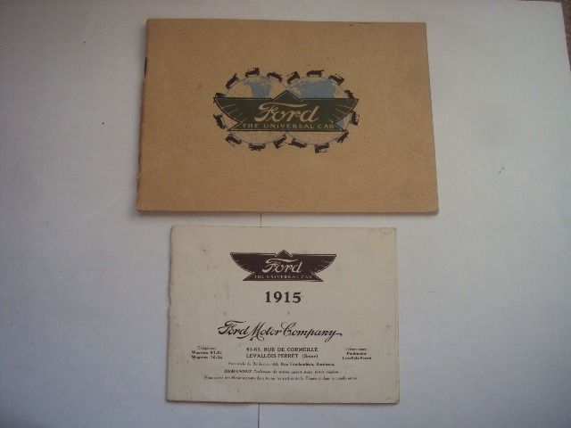 Brochures / catalogues - Ford - 1914