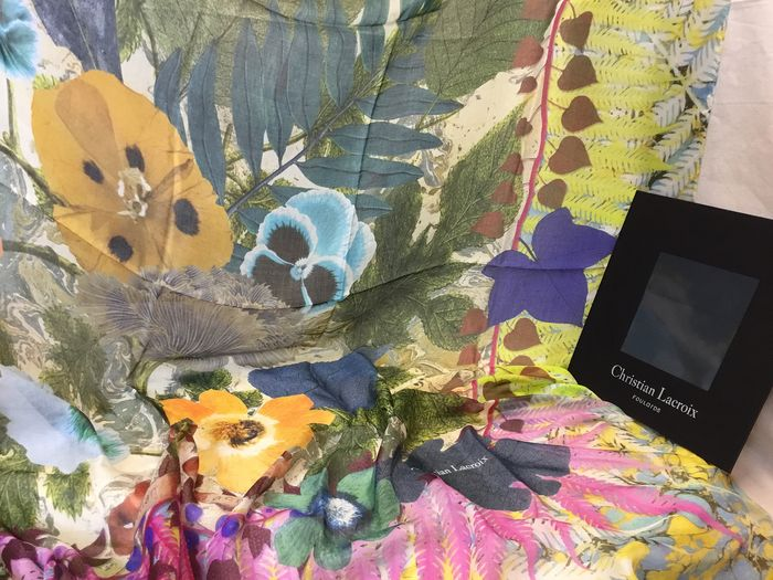 Christian Lacroix - LUXE French Big  Scarf
