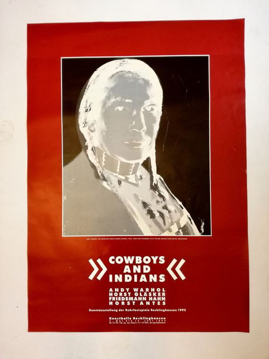 Andy Warhol - Cowboys and Indians - 1992