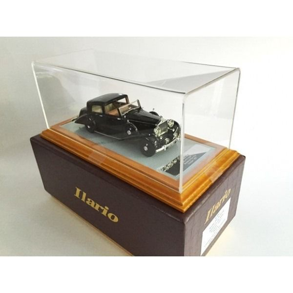 Ilaria - 1:43 - Rolls Royce Phantom III Sedanca De Ville Hooper 1937 sn 3CP130 Zwart RHD - Limited serie of 99 pieces