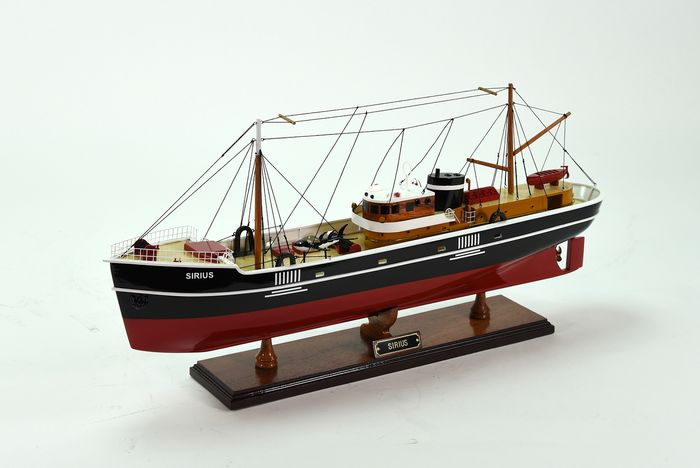 Tintin -  Model ship - The Sirius - Le trésor de Rackham le rouge