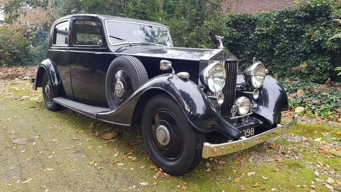 Rolls-Royce - 25/30 Sports Saloon - By Thrupp and Maberly - 1938