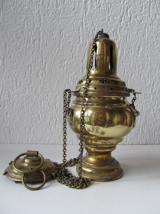 Antique copper censer - Buyer