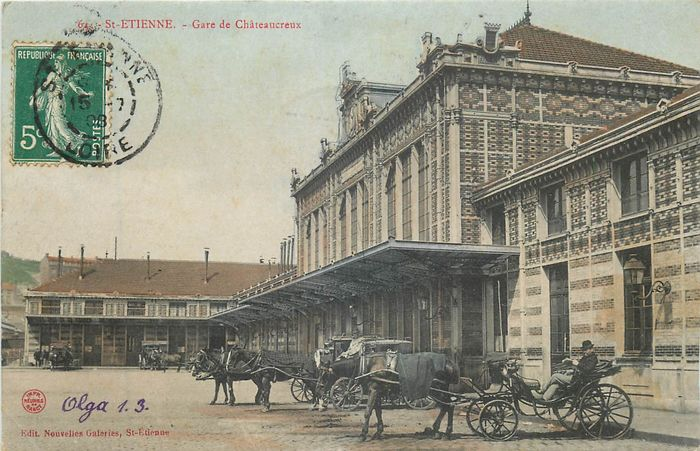 France - Stations - Trains - To see - Postcards (Set of 38) - 1904