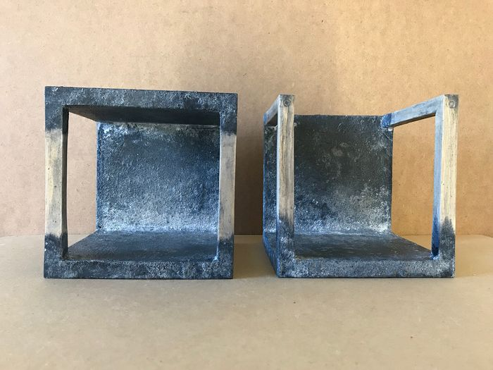 CUBIC or not CUBIC -  Memory boxes - Diptych 19-Sc.M.B-2-1