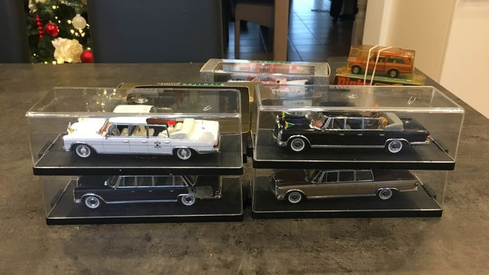 Vitesse - 1:43 - Mercedes 600 - 3 convertible versions and 1 pullman