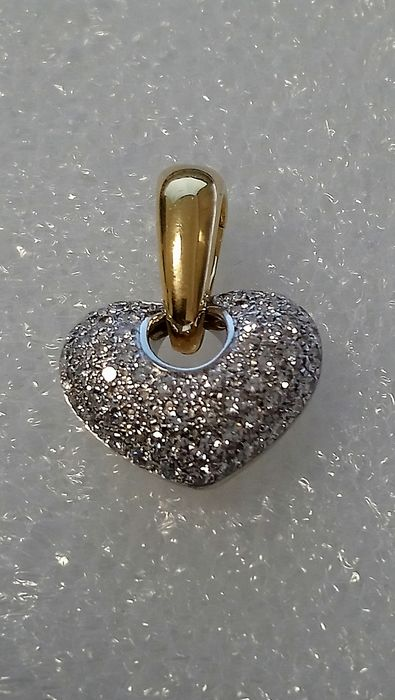 Chimento - 18 kt. White gold, Yellow gold - Pendant Diamond