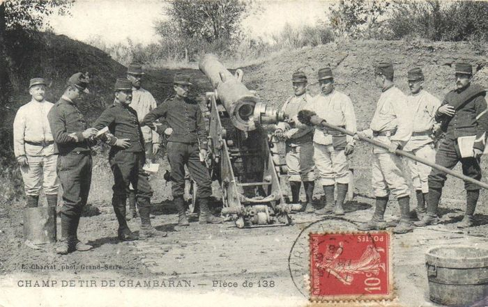 France - Military - Cannons around W.O.1 - Action photos, camp photos etc. - Postcards (63) - 1900-1940