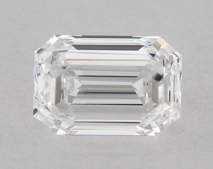 1 pcs Diamond - 1.09 ct - Emerald - D (colourless) - VVS2, ** VG/GD - Low Reserve Price **