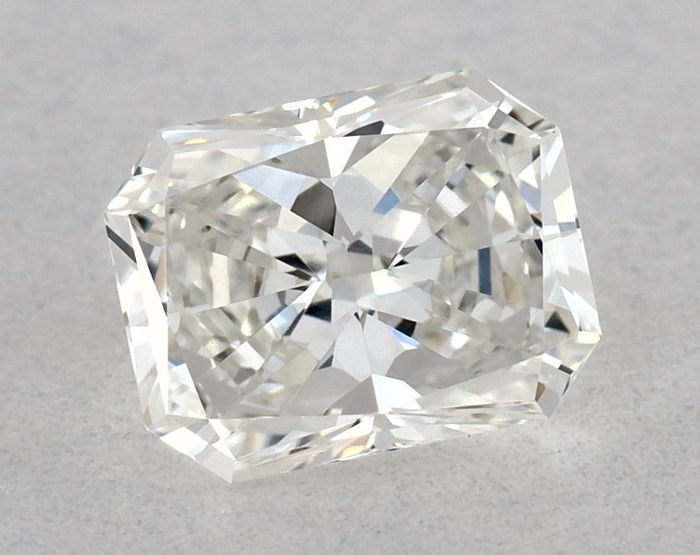 1 pcs Diamant - 0.51 ct - Radiant - G - VVS1, GIA - 2 VG - Low Reserve Price
