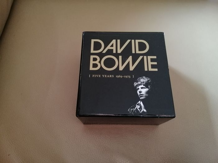 David Bowie - Five Years [1969 ~ 1973] - Multiple titles - CD Box set - 2015