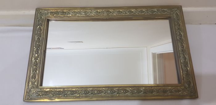 England  - Spiegel (1) - Mirrors with Brass frame
